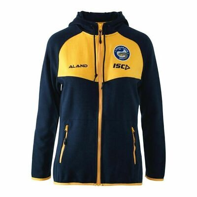 Parramatta Eels NRL 2018 ISC Players Tactical Jacket/Hoodie Adults & Kids Size!