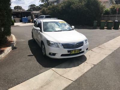 2010 Toyota Camry Aurion At-X Good Condition White 18 Rego No Reserve Auction