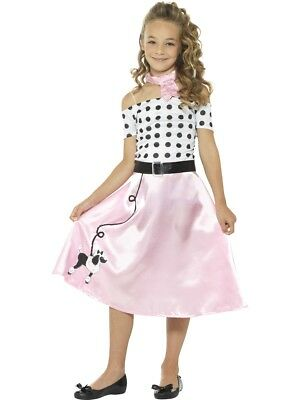50's Poodle Skirt Girls Child Costume