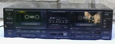Sony Tc-Wr750 Double Cassette Deck