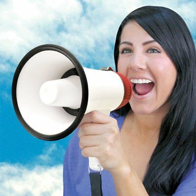 Professional Megaphone Siren Microphone Music Bullhorn Cheerleading Loud Speaker