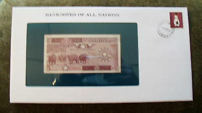 Banknotes of All Nations Somalia 1983 5 Shillings P31a UNC Serie D.009