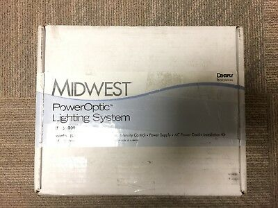 Dentsply Midwest PowerOptic Lighting System. New