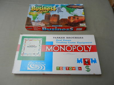 Vintage Board Games MONOPOLY & BUSINESS