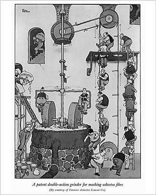 """10""""x8"""" (25x20cm) Print Patent double action grinder for asbestos by..."""
