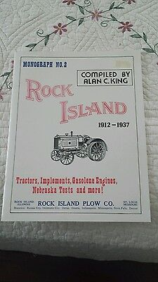 Rock Island tractor hit miss stationary engine book