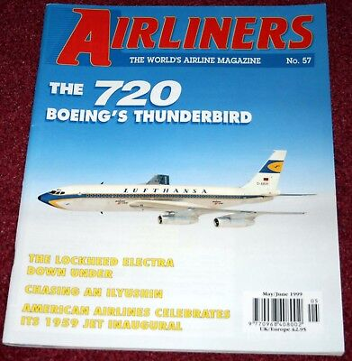Airliners 57 Boeing 720,American 757,Aeroflot IL62,Lockheed Electra