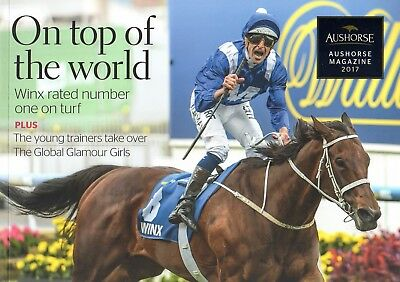 2017 Australian Horse Racing Booklet Includes Winx On Cover & 4-Page Article!!!