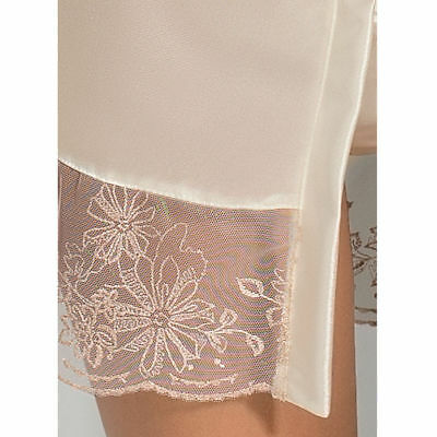 Sexy Y Seductora Con Passion Lotus Peignoir Cream S/m | Sexy Xmas