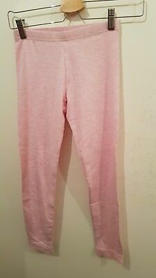 lovely girls pink leggings age 9-10 years