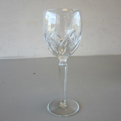 """Signed Waterford Crystal LUCERNE 8"""" Wine Glass Multiple Available"""
