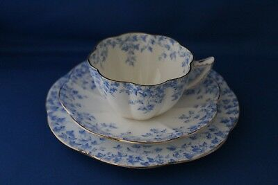 Rare Antique Wileman And Co Pre Shelley Trio Cup And Saucer With Side Plate No 1