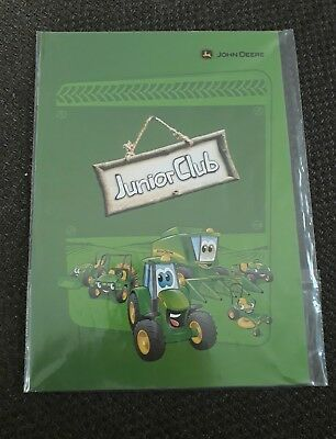 Stickerheft & Malbuch John Deere Traktor Kinder
