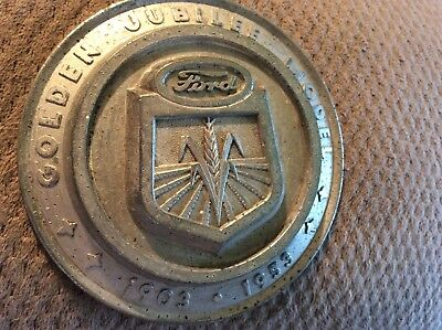 Ford Tractor Emblem 1953 Golden Jubilee Model 1903-1953