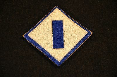 Wwii Us Army '1St Service Command' Ssi Shoulder Sleeve Insignia Patch Vg+