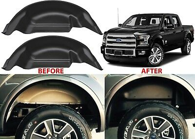 Husky Liners Rear Wheel Well Guards For 2015-2018 Ford F150 New Free Shipping