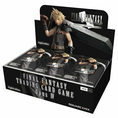 Final Fantasy Trading Card Game Opus IV Booster Box - LIMITED STOCK