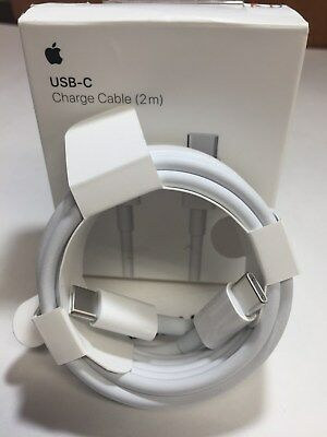 Apple MLL82AM/A USB-C Charge Cable (2m) - White GENUINE  NEW