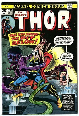 Thor #230 NM- 9.2 off-white pages  Hercules  Marvel  1974  No Reserve