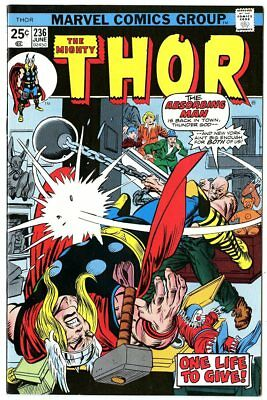 Thor #236 NM 9.4 ow/white pages  Marvel  1975  No Reserve