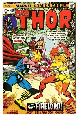 Thor #246 NM- 9.2 white pages  vs. Firelord  Marvel  1976  No Reserve