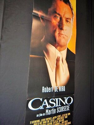 CASINO ! affiche cinema robert de niro