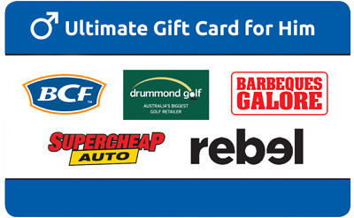 $50 Ultimate Gift Card for Him