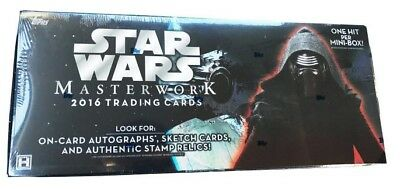 TOPPS Star Wars Masterwork - HOBBY Collection 2016