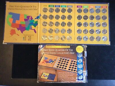 First State Quarters Collectors Map YouTube Amazoncom First State - Us map for quarters