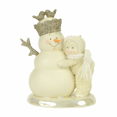 Dept 56 Snowbabies Snow Dream New 2017 YOU'RE MY KING Snowbaby 4058462
