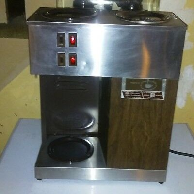 Bunn Model VPR 12 Cup Pour Over Coffee Maker, cleaned & tested