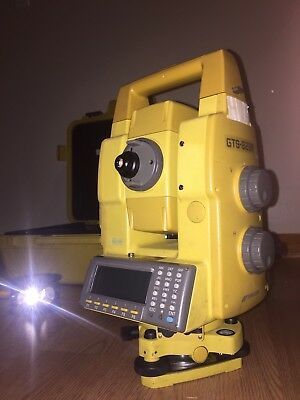 TOPCON GTS-823A robotic autotracking total station 1""
