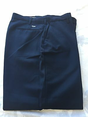 Cintas Comfort Flex Navy Blue Work Pants Size 36x30 Lot Of 3 Pants #945-20
