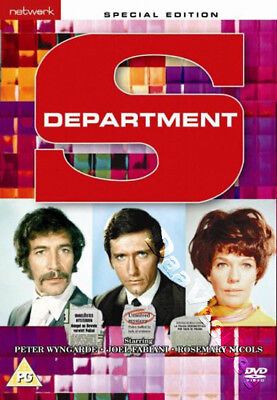 Department S - Complete Series NEW PAL Cult 8-DVD Set Peter Wyngarde J. Fabiani