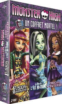 Monster High Collection (3 Films) NEW PAL Kids 2-DVD Set Laura Bailey Cam Clarke