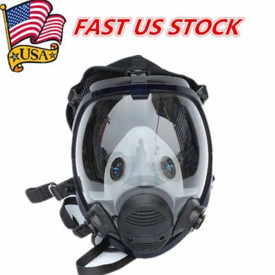 US For 6800 Facepiece Respirator Gas Mask Full Face Painting Spraying Similar