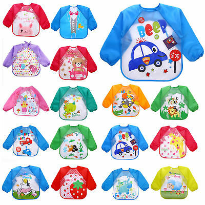 New Baby Boy Girl Bibs Waterproof Saliva Towel Cartoon Bib Burp Feeding Bandana