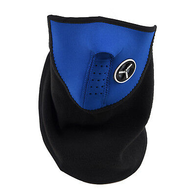 Neck Warmer Face Mask Cycling Motorcycle Ski Helmet Wind Veil Snowboard blu Z5L8