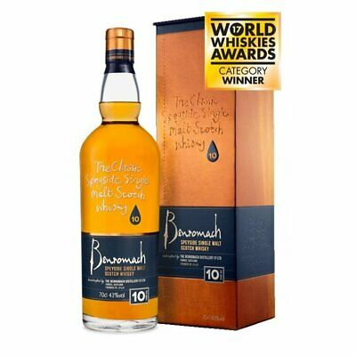 New Benromach 10 Year Old Single Malt Scotch Whisky (700ml)