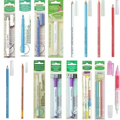 Clover Fabric Marker Pen & Pencil Dressmaking Tailors
