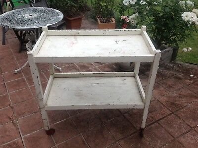 Vintage Bar Drinks Or Tea Trolley Needs To Be Restored Or Upcycle