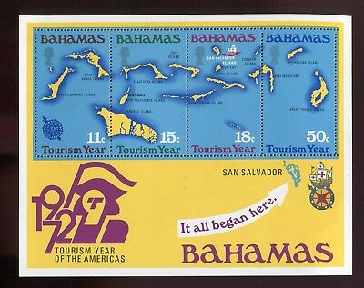 Bahamas QEII 1972 Tourism Year SG.MS392 MNH