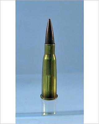 """10""""x8"""" (25x20cm) Print of A WWI French 8mm Lebel Rifle Bullet"""