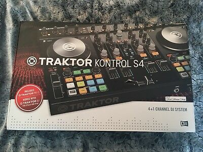 native instruments Traktor Kontrol S4 Mk2 Dj Controller 4deck Control Home use