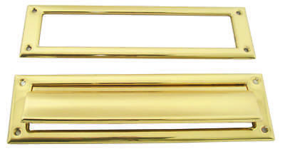 Schlage SC620B3 Mail Slot, 3-1/2 X 13 in