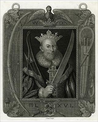 """10""""x8"""" (25x20cm) Print of William I, The Conqueror from Prints Online"""