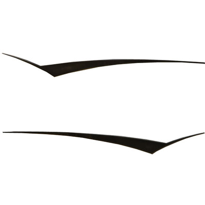 Larson Boat Side Sweep Decals 8634-2878-20 | 2007 SEI 180 Black Silver
