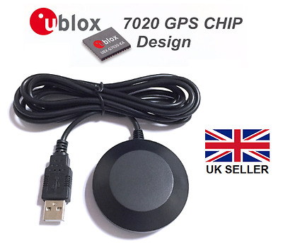 BT-708 USB GPS Receiver with magnetic base, Ublox 7, Win 7/8/10 Linux, Ras Pi