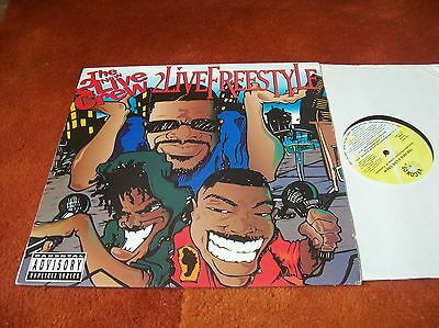 """THE NEW 2 LIVE CREW - 2 live freestyle 12"""" single  1994"""