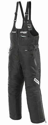 Rocket Snow Gear Mens Black Extreme Insulated Snowmobile Bibs Pants Snocross